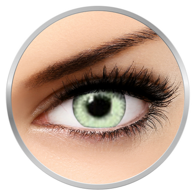 Soleko Queen's Twins Light Green - Green Contact Lenses monthly - 30 wears (2 lenses/box)