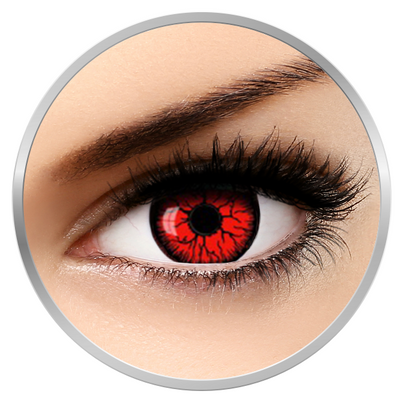 Auva Vision Fantaisie Resident Evil - Yearly Contact Lenese for Halloween - 365 wears (2 lenses/box)