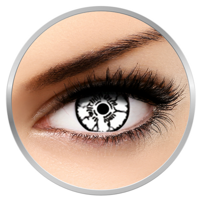Auva Vision Fantaisie Neji - Yearly Contact Lenese for Halloween - 365 wears (2 lenses/box)