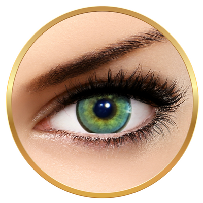 Solotica Hidrocharme Quartzo - Green contact Lenses yearly - 365 lenses (2 lenses/box