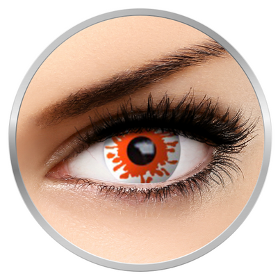 Auva Vision Fantaisie Blast - Yearly Contact Lenese for Halloween - 365 wears (2 lenses/box)