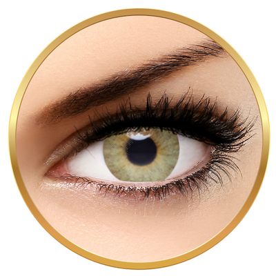 Solotica Aquarella See Green - Daily Green Colored Lenses - 5 wears (10 lenses/box)