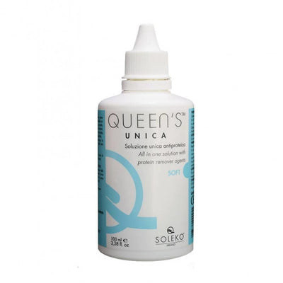 Soleko Unica Queen's S / S 100 ml - Maintenance Solution for Contact Lenses