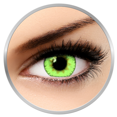 Soleko Queen's Trilogy Light Green - Green Contact Lenses monthly - 30 wears (2 lenses/box)