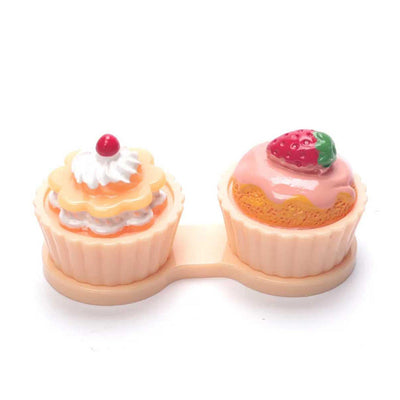 Auva Vision Suport for Contact Lenses Cup Cake Orange