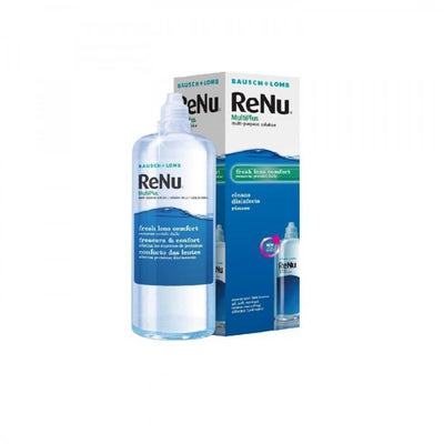 Bausch & Lomb Maintenance Solution for Contact Lenses Renu Multi-Purpose 360 ml + gift contact lenses holder