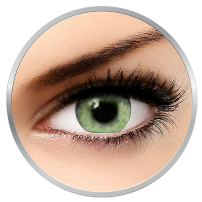 Soleko Queen's Twins Jade - Green Contact Lenses monthly - 30 wears (2 lenses/box)