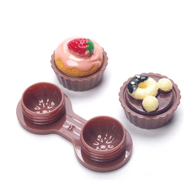 Auva Vision Suport for contact lenses Cup Cake Chocolate