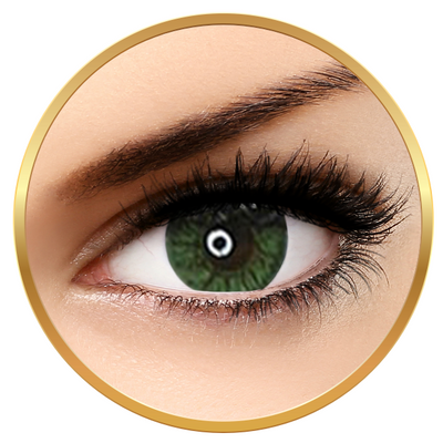 Adore Crystal Green - colored contact lenses on a quarterly basis - 90 wears (2 lenses / box)