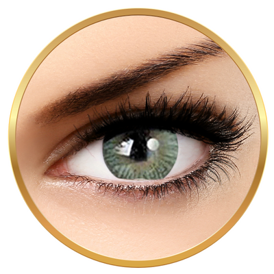 Adore Tri Tone Light Green - colored contact lenses on a quarterly basis - 90 wears (2 lenses / box)