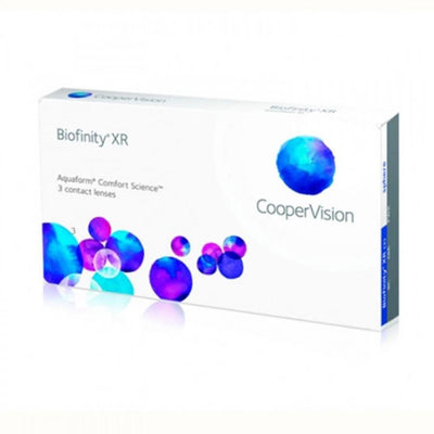 Cooper Vision Biofinity XR monthly 3 lenses / box
