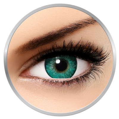 Alcon / Ciba Vision Freshlook Dimensions Carribean Aqua - monthly aqua colored contact lenses - 30 wears (2 lenses / box)