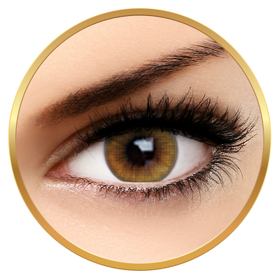 Fashion Lentilles Mood Brown - Yearly contact lenses for Halloween - 365 wears (2 lenses/box)