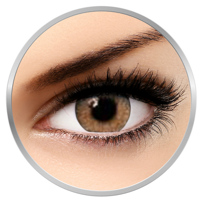 Soleko Queen's Twins Spice - Brown Contact Lenses monthly - 30 wears (2 lenses/box)