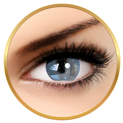 Adore Bi Tone Aqua - colored contact lenses on a quarterly basis - 90 wears (2 lenses / box)