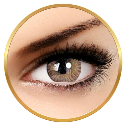 Adore Tri Tone Hazel - colored contact lenses on a quarterly basis - 90 wears (2 lenses / box)