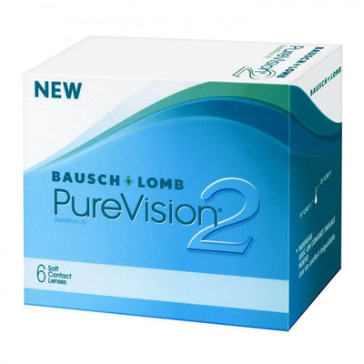 Bausch & Lomb Pure Vision 2HD monthly - 6 lenses / box