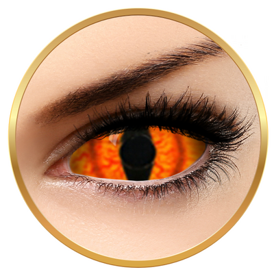 Auva Vision Fantaisie Sclera Shadowcat - Yearly Contact Lenese for Halloween - 365 wears (2 lenses/box)