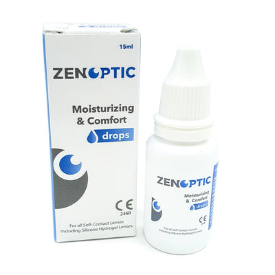 Eye drops ZENOPTIC Moisturizing & Comfort Drops 15 ml