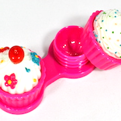 Auva Vision Suport for Contact Lenses Cup Cake Pink