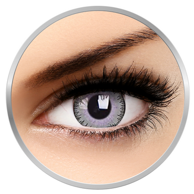 ZenVu Blended Grey/Violet - Grey/Violet Contact Lenses quarterly - 90 wears (2 lenses/box)