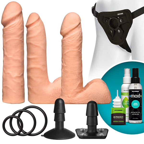 Vac-U-Lock Dual Density UltraSKYN Flesh Set
