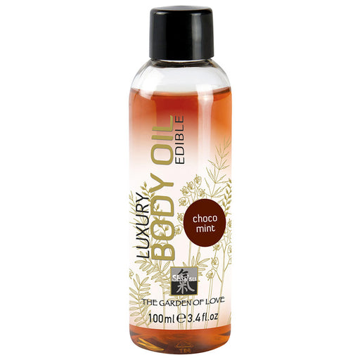 Buy Shiatsu Luxury Edible Body Oil - Choc Mint for only 10.99 and always with discreet shipping | LoveMyToy.co.uk
