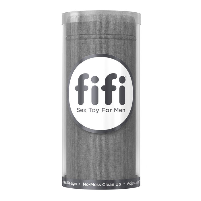 Fifi Masturbator Grey With 5 Disposable Sleeves