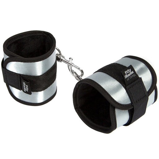 Buy Fifty Shades Of Grey Totally His Soft Handcuffs for only 11.99 and always with discreet shipping | LoveMyToy.co.uk