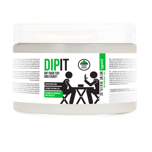 Buy Dip It Dip Your Toy And Enjoy Lubricant 500 ml for only 15.99 and always with discreet shipping | LoveMyToy.co.uk
