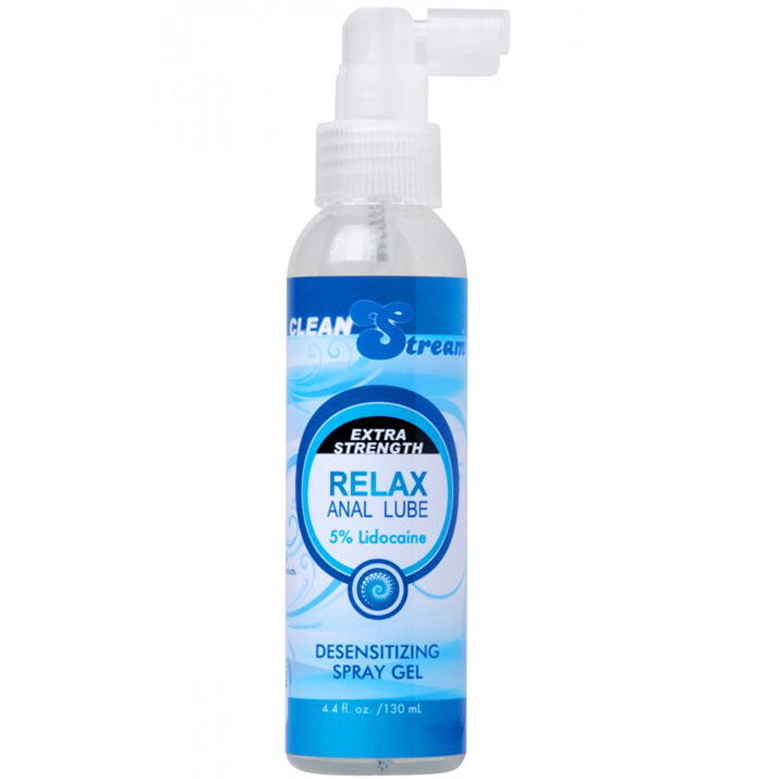 Clean Stream Relax Anal Lube With Lidocaine 4.4 oz