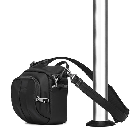 Camsafe LS Anti-Theft Square Crossbody Camera Bag, Black