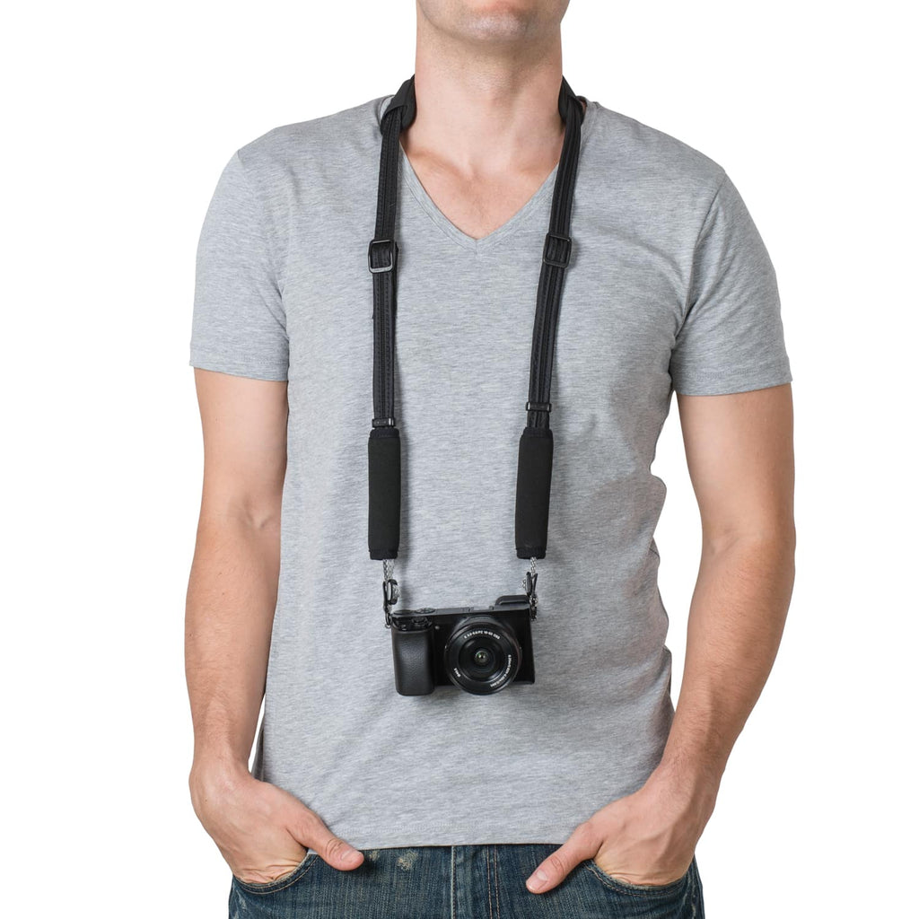 Carrysafe 100 GII Anti-Theft Camera Strap, Black