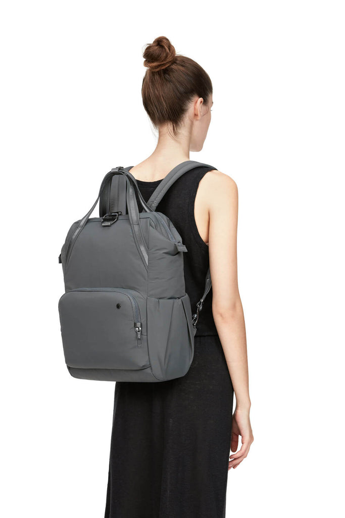 Citysafe CX Anti-Theft Backpack, Storm ECONYL