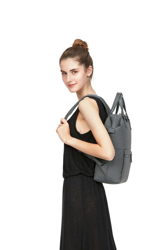 Citysafe CX Anti-Theft Mini Backpack, Econyl Storm