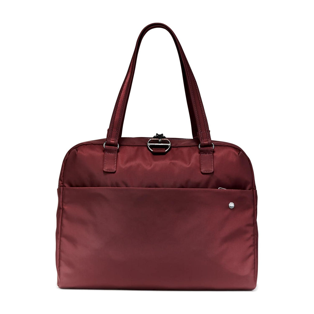 Citysafe CX Anti-Theft Slim Briefcase, Merlot