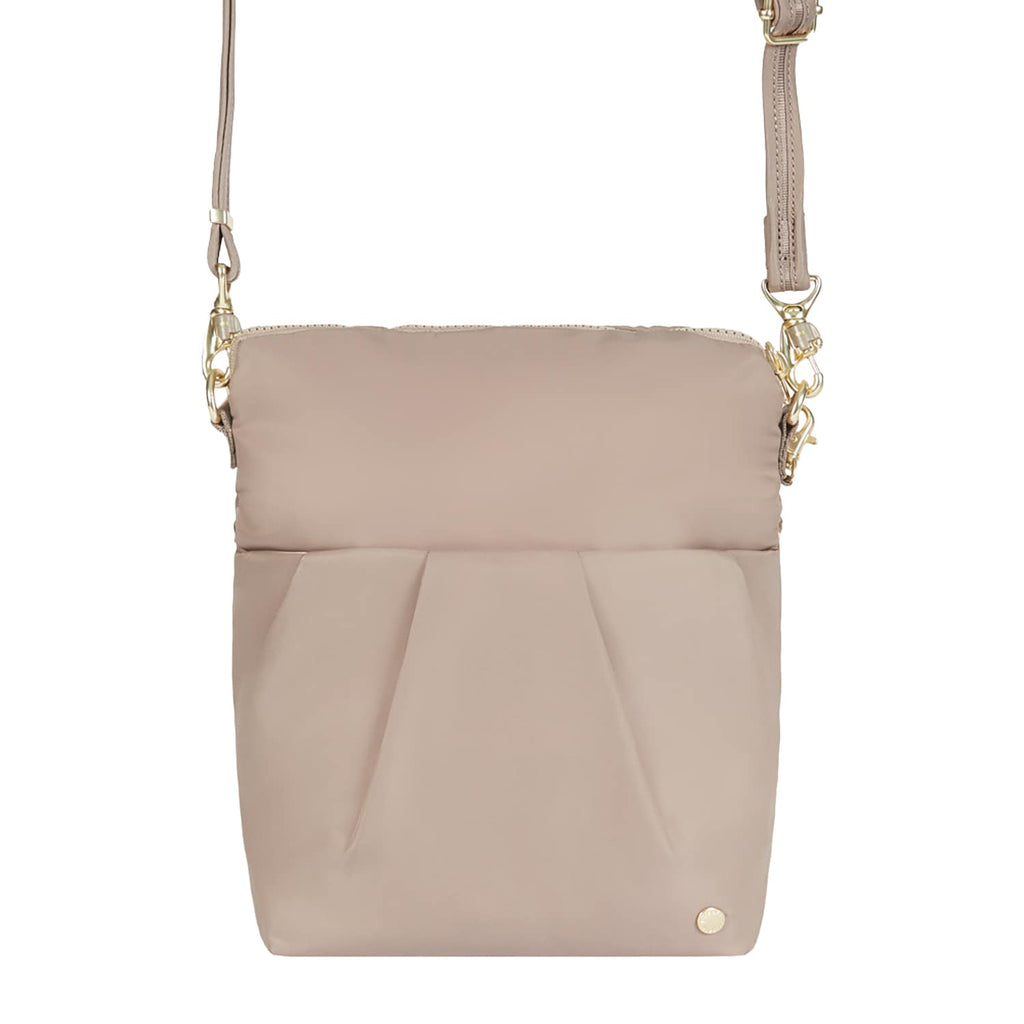 Citysafe CX Anti-Theft Convertible Crossbody, Blush Tan
