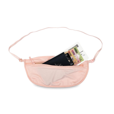 Coversafe S100 Secret Travel Waist Pouch, Orchid Pink