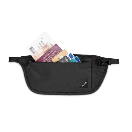 Coversafe V100 RFID Blocking Waist Wallet, Black