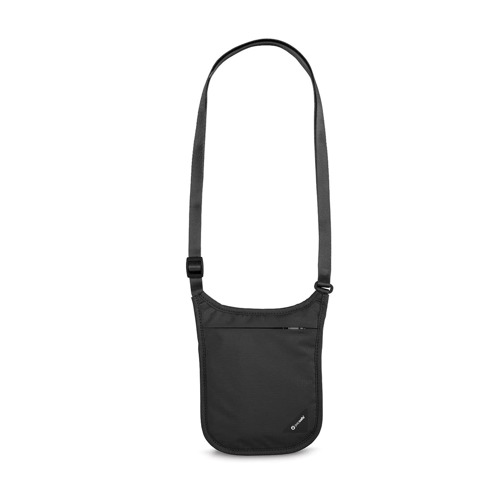 Coversafe V75 RFID Blocking Neck Pouch, Black