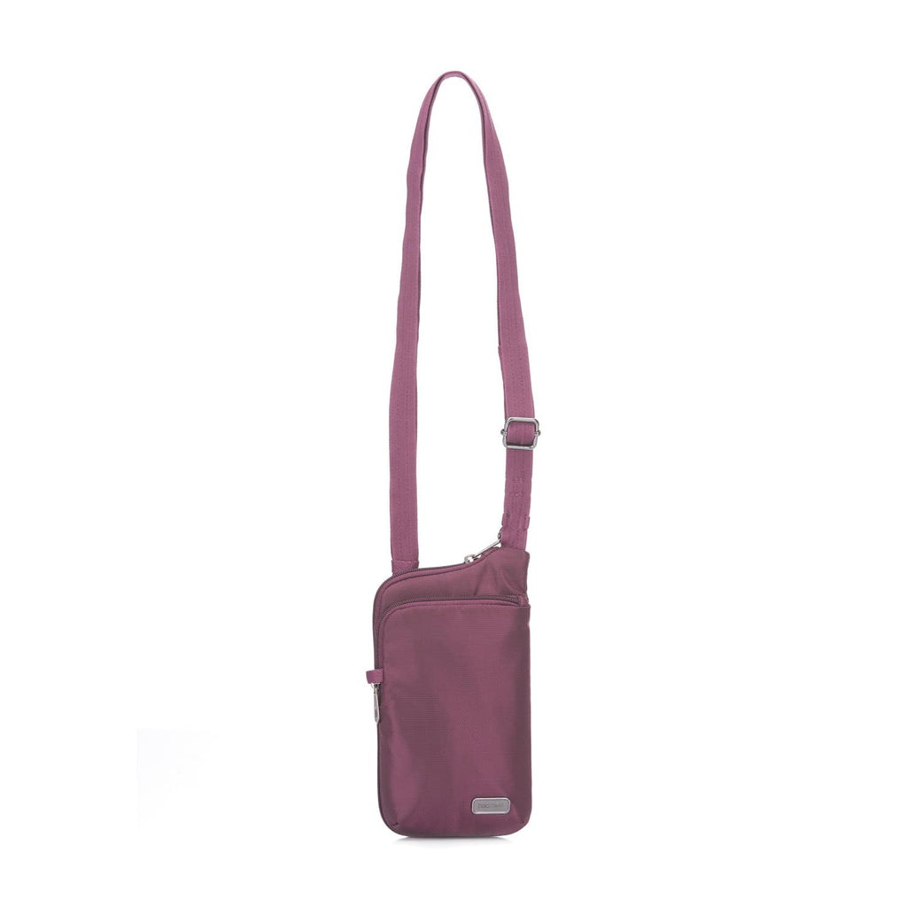 Daysafe Anti-Theft Tech Crossbody Bag, Blackberry