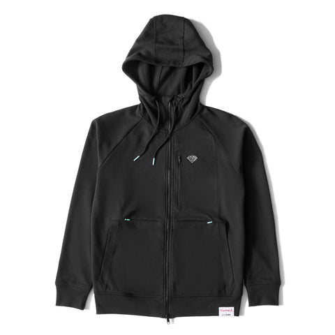 Diamond X Pacsafe Macba Hoodie, Black
