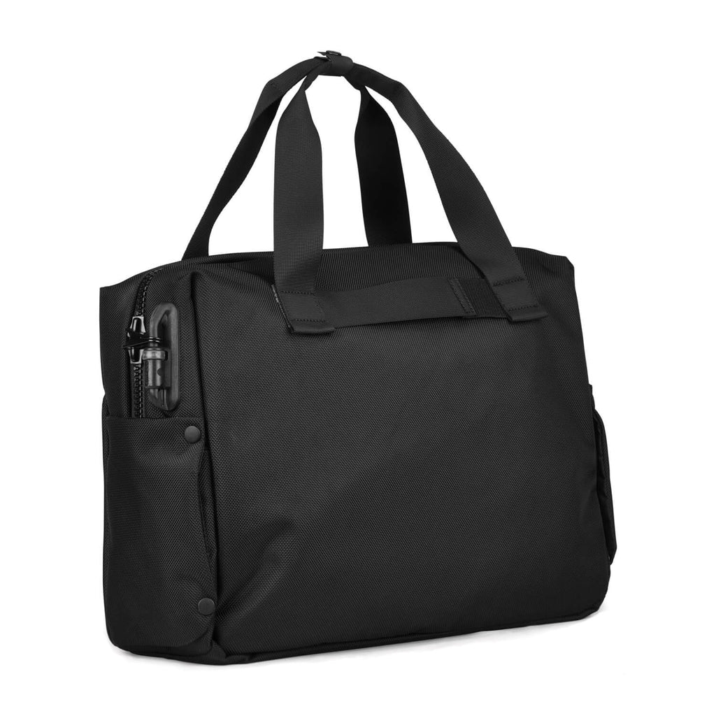 "Intasafe Anti-Theft 15"" Laptop Brief, Black"