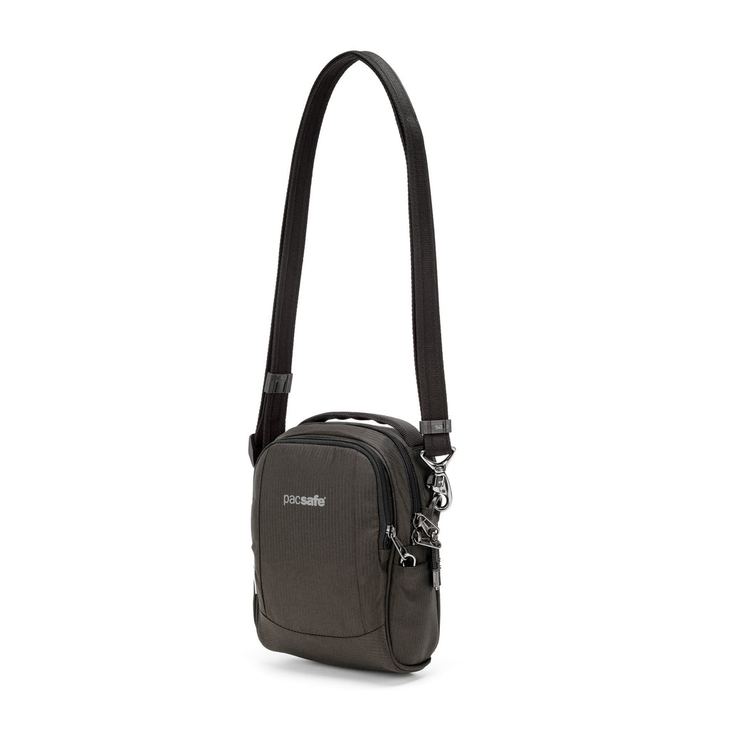 Metrosafe LS100 ECONYL® Anti-Theft Crossbody Bag, Bedrock
