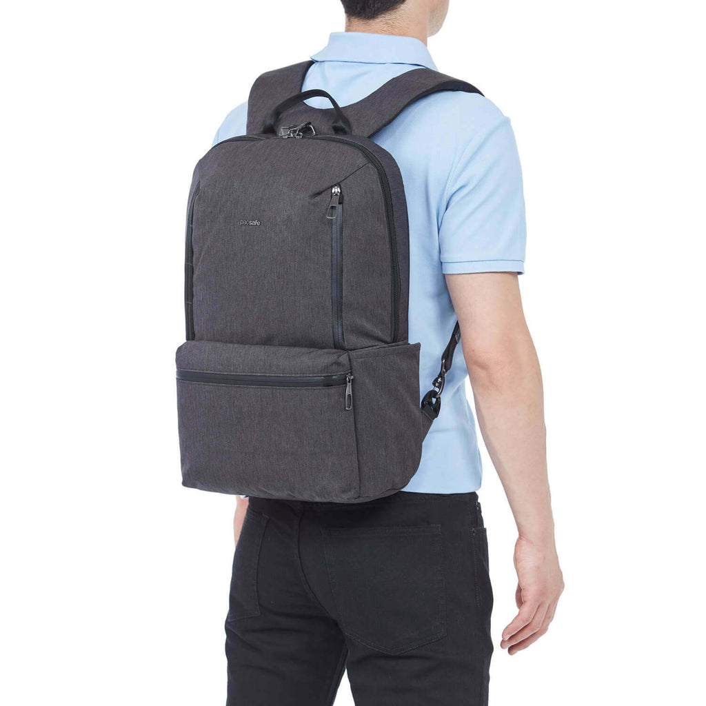 Metrosafe X Anti-Theft 20L Backpack Carbon
