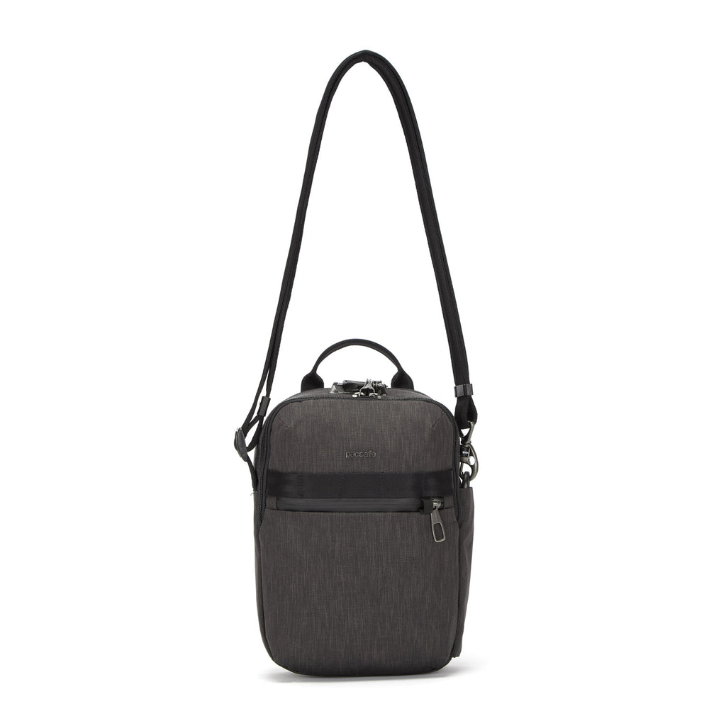 Metrosafe Anti-Theft Vertical Crossbody, Carbon