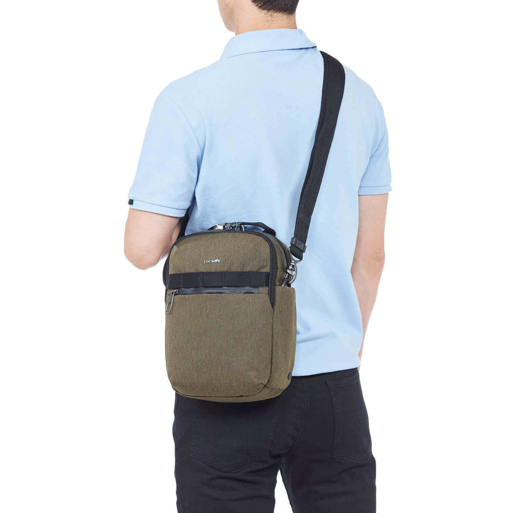 Metrosafe X Anti-Theft Vertical Crossbody Utility