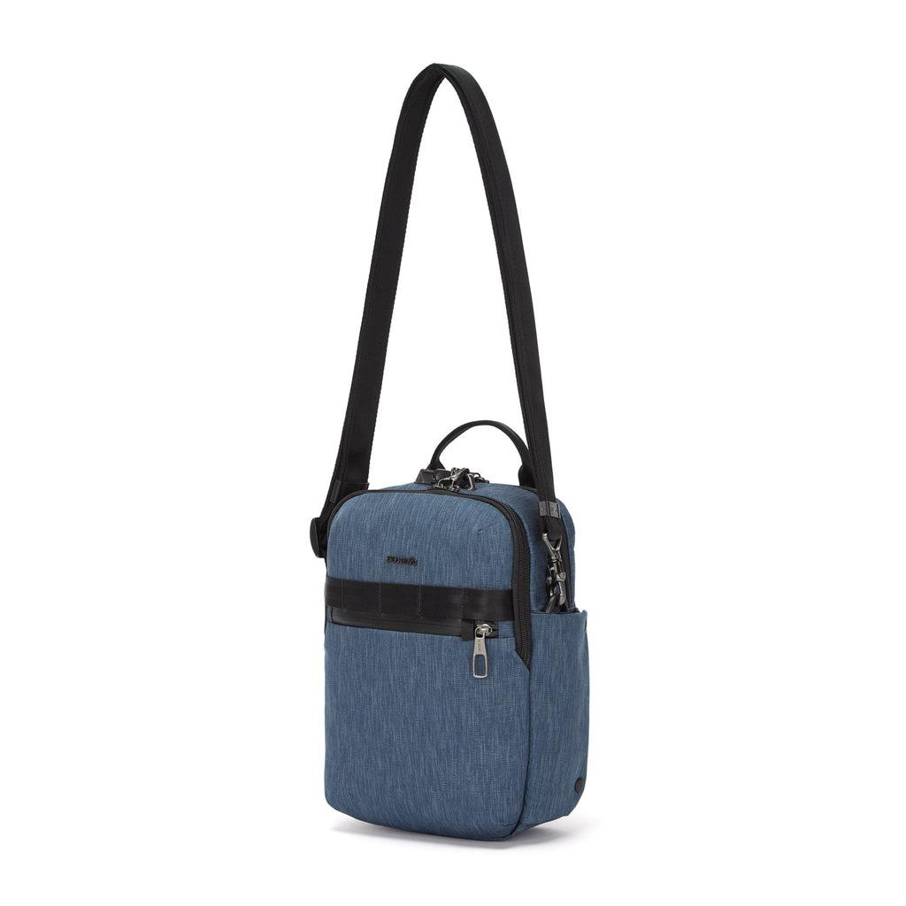 Metrosafe Anti-Theft Vertical Crossbody, Dark Denim