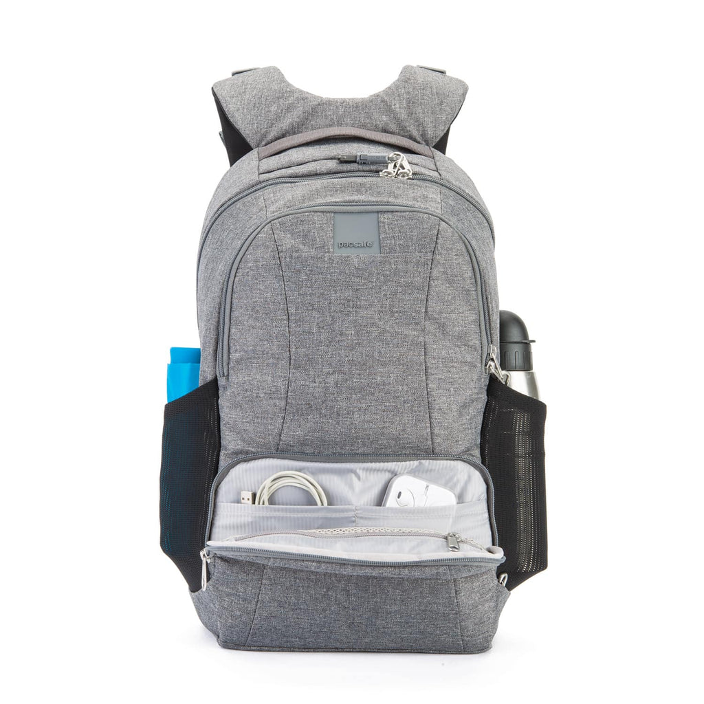 Metrosafe LS450 Anti-Theft 25L Backpack, Dark Tweed