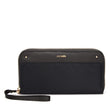 RFIDsafe RFID Blocking Continental Wallet, Black